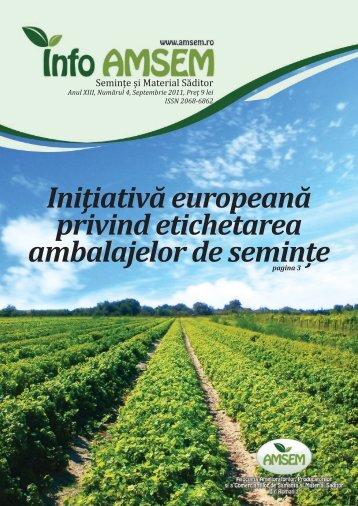 Revista Info-AMSEM Nr. 4 / 2011