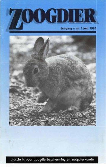 jaargang 4 nr. 2 juni 1993 - Zoogdierwinkel