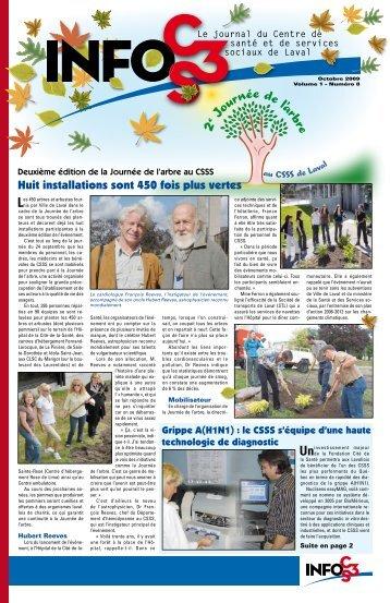 Volume 1 Numéro 8 - Centre de santé et de services sociaux de Laval