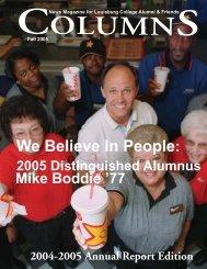2005 Distinguished Alumnus - Louisburg College