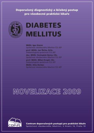 Diabetes meliitus - Společnost všeobecného lékařství