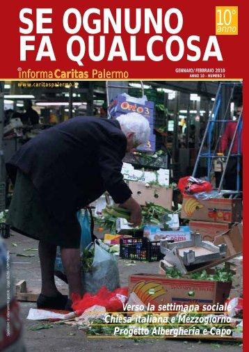 gennaio/febbraio - Caritas Diocesana di Palermo