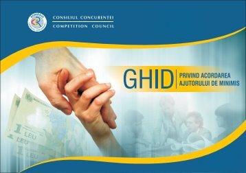 Consiliul Concurentei Ghid ajutor de minimis partea 1.cdr