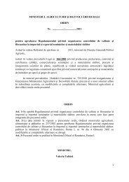 Textul complet... - MADR - Ministerul Agriculturii si Dezvoltarii Rurale