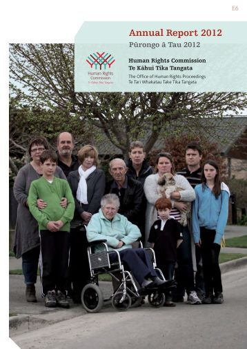 Annual Report 2012 - Human Rights Commission