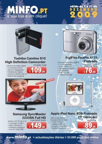 Apple iPod Nano 4GB Prateado (3ª Geração) - Minfo
