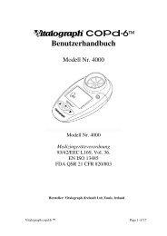 Vitalograph copd-6™ Benutzerhandbuch