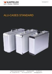 pdf - prospekt - Kappeler Verpackungs-Systeme AG