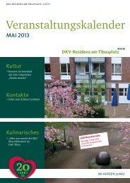 Veranstaltungskalender - DKV-Residenz am Tibusplatz