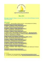Mars 2012 Allemagne Australie - Organic-E-Publishing-International