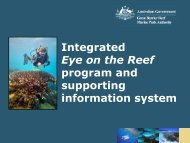 Integrated Eye on the Reef Information System - Data Smart ...
