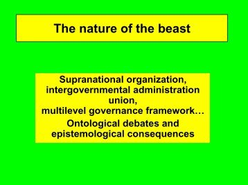 The nature of the beast - CAESAR
