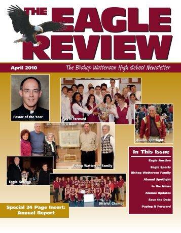 100648 Eagle Review.qxp:1, page 8 @ Preflight - Bishop Watterson ...