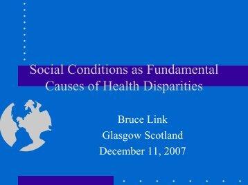 Presentation - Glasgow Centre for Population Health