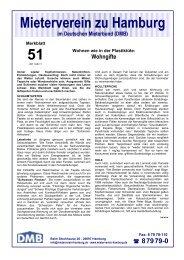 Wohngifte - Mieterverein zu Hamburg