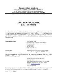 ZNALECKÝ POSUDEK číslo: 4431-577/2012 - OKdrazby.cz