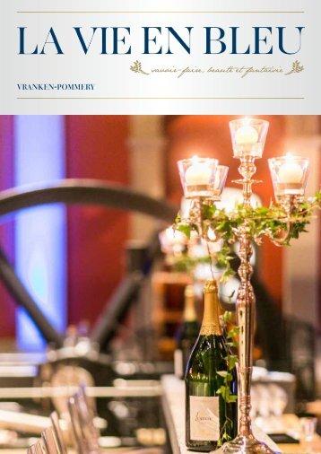 Pommery Newsletter La Vie en Bleu 2014