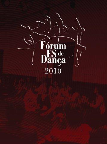 Fórum ES de Dança 2010 - Secult - Governo do Estado do Espírito Santo
