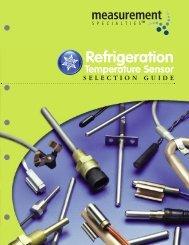 Refrigeration Selector Guide - Spectrum Sensors & Controls