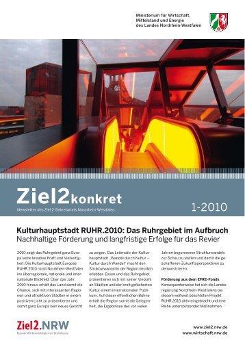Ausgabe April 2010 - Ziel2.NRW
