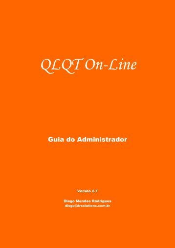 Guia do Administrador (PDF) - drSolutions