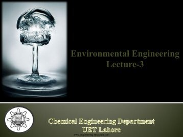 Water Pollution - the engineering resource
