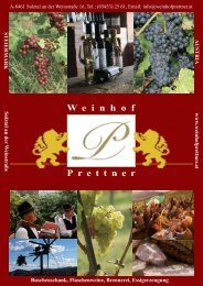 Folder Buschenschank Prettner.indd - Weinhof Prettner