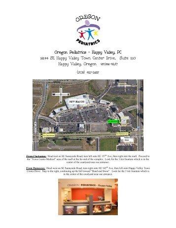 Oregon Pediatrics Ne Portland Pc 5050 Ne Hoyt St Suite B55
