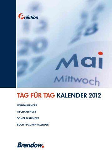 TAG FÜR TAG KALENDER 2012