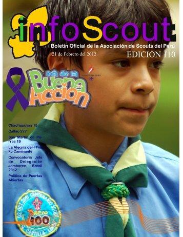 Info SCOUT 110 - Scouts del Perú
