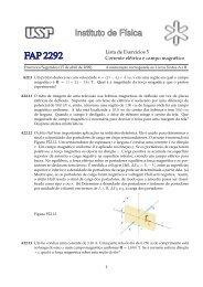 Lista de Exercıcios 5 Corrente elétrica e campo magnético - Plato