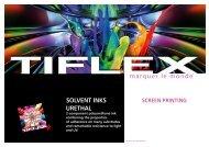 SolvENT INkS UREThal - Tiflex