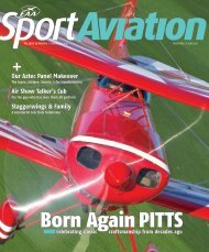 Read the Sport Aviation article here - American Legend Aircraft ...
