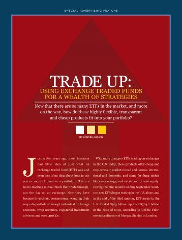 TRADE UP: - Forbes Special Sections