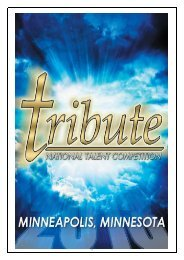 Friday, April 12, 2013 - Tribute National Talent