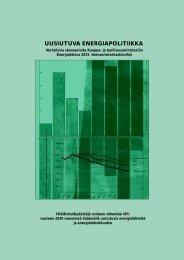 7 yliopiston Uusiutuva energiapolitiikka -tutkimus, 1999