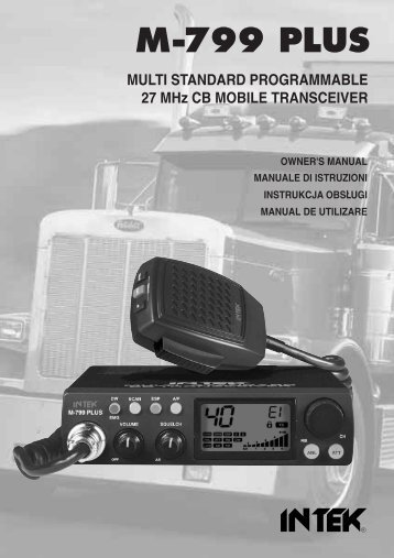USER MANUAL M-799 PLUS MULTI - Free
