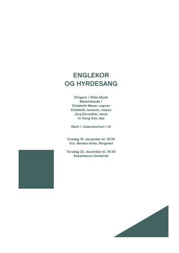 Englekor og hyrdesang / 19.-20. december 2012 - Copenhagen Phil