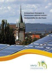 Erneuerbare Energien in Kommunen optimal nutzen ... - IZT