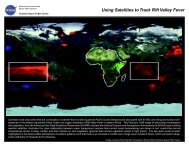 Rift Valley Fever - NASA's Earth Observing System