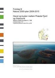 Forslag til Natura 2000-plan 2009-2015 Havet og ... - Naturstyrelsen