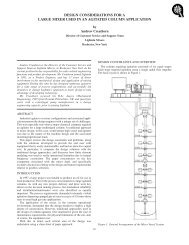 design considerations for a large mixer used in an agitated column ...