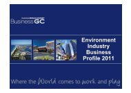 Environment Industry Business Profile 2011 - Business Gold Coast