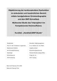 Studienprotokoll der Handheld-BNP-Studie PDF - Medizinische Klinik