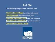 Dark Man - Ransom Publishing