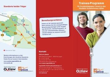 Trainee-Programm - OUTLAW gGmbH