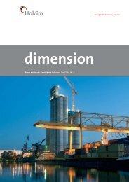 dimension 1/09 - Holcim Schweiz