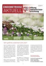 AKTUELL - Österreichische Endometriose Vereinigung