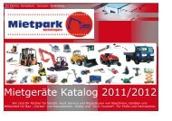 Gesamtkatalog (ca. 8 MB Download) - Mietpark-Geislingen