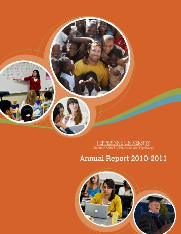 Annual Report 2010-2011 - Graduate School of Education and ...